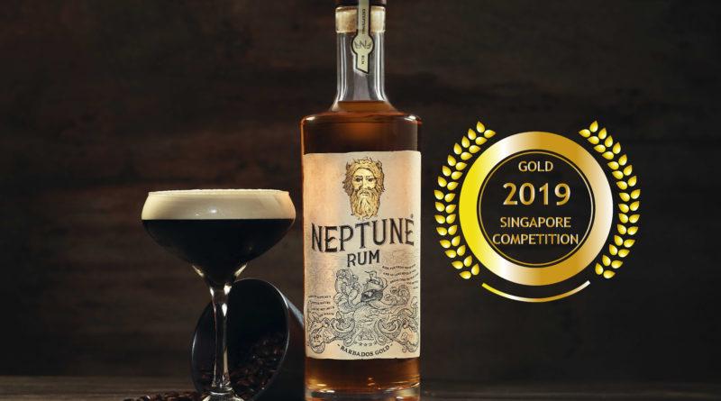 Neptune Rum - Singapore Newspaper