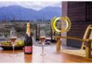 Jasmine Monet Pink Organic Sparkling Wine