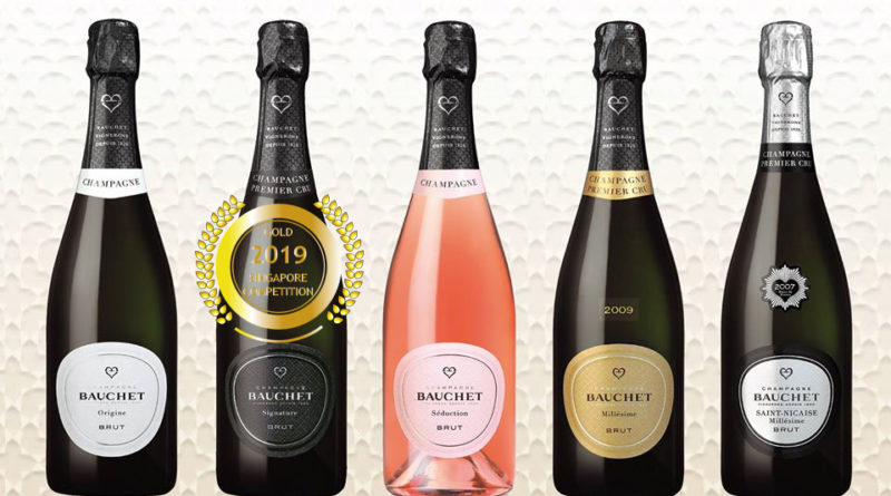 Bauchet Champagne - Singapore Newspaper