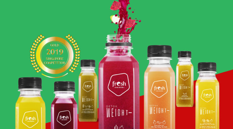 Fresh Saigon : The first beauty drink in Vietnamese market