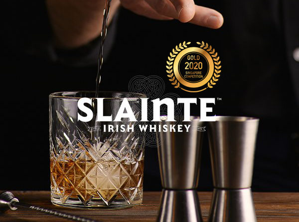 Sláinte Irish Whiskey - Singapore Newspaper