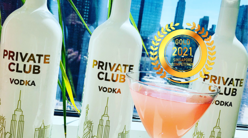 Private Club Vodka - Singapore Newspaper