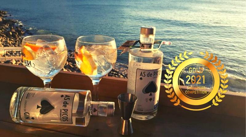COMPAÑIA LEBANIEGA DE VINOS Y LICORES SL. : Premium artisan gin by Singapore Newspaper