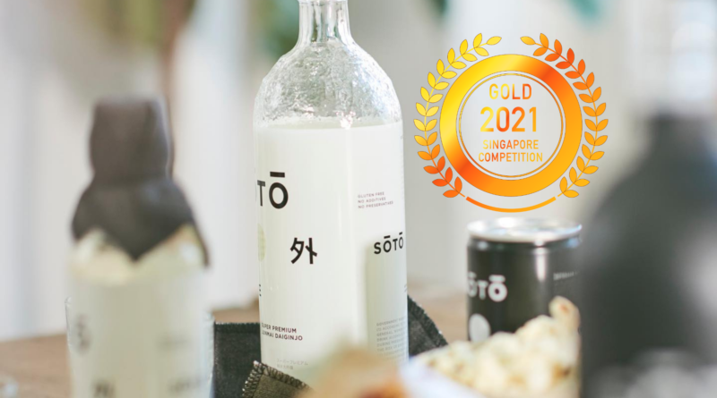 Soto Sake : Created using naturally superior ingredients from Niigata by Singapore Newspaper.